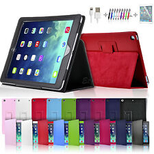 New Smart Flip Leather Case Cover for New iPad 5 iPad Air