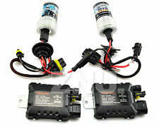 AC 55W Xenon Slim HID Conversion Kit Wireless Ballast H1 6000K 8000K 1000K Bulbs