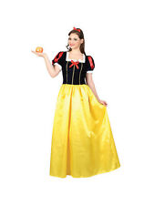 Adult Snow White Princess Fancy Dress Costume Fairy Tale Sexy Ladies Female BN