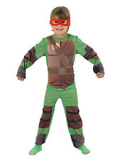 Child Teenage Mutant Ninja Turtle Outfit Fancy Dress Costume Superhero TMNT Kids