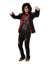 Adult LMFAO Sky Blu Party Outfit Fancy Dress Costume Dance Rock Band Idol BN