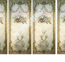 Dolls House Victorian Wall Panels choose from 1/12th or 1/24th scale #207