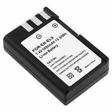 EN-EL9 Li-on Battery For Nikon Coolpix S6400 Digital SLR D60 D5000