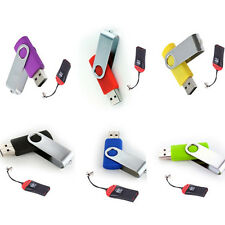 New 2GB 4GB 8GB 16GB USB 2.0 Memory Stick Flash Drive U-Disk+TF Card Reader D1