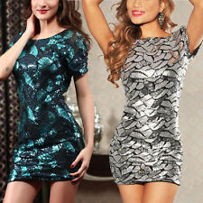 SERRE SEXY JUPE ROBE A PAILLETTES