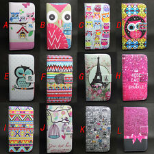 Owl Wallet Leather Skin Flip + Tpu Case Cover For Sony Xperia Z1 Compact Mini