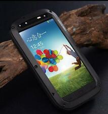 LOVE MEI Aluminum Metal Shock/Dirt Proof Glass Case For Samsung Galaxy S4 i9500