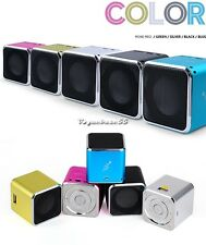 New Mini Speaker For PC MP3/4 Micro SD/TF Portable USB Music Angel Player  VE4A