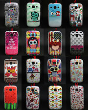 Owl Cake Variety Tpu Gel Soft Skin Case Cover For Samsung Galaxy Core i8262