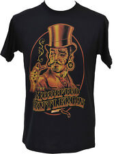 Screaming Demons mans black print t shirt Steampunk Tattoo Victorian  S - 5XL