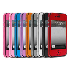 Pure Full Body Decal Skin Sticker Wrap Case Cover For Apple iphone 4 4G 4TH 4S