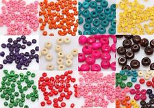1000pcs Wood Seed Spacer Beads, Many Colors to Choose,4x3mm