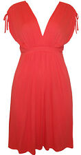 NEW PEPPERBERRY BRAVISSIMO CORAL SUMMER JERSEY DRESS 8 10 12 14 16 18 REALLY SUP