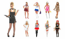 ROLEPLAY Ladies Womens Fancy Dress Up Outfit Adult Sexy Hen Night Party UK 8-20