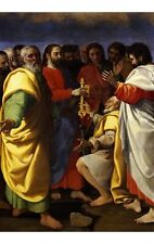 """GIUSEPPE VERMIGLIO """"Christ's Charge To Saint Peter"""" various SIZES available, NEW"""