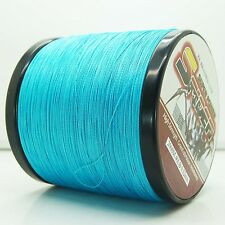 2000M/2187yds Blue 6LB-100LB Super Strong Dyneema PE Braided Fishing Line