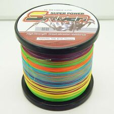 2000M/2187yds Multi-Color 6LB-100LB Super Strong Dyneema PE Braided Fishing Line