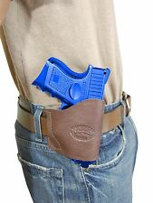 New Barsony Brown Leather Yaqui Gun Holster for Colt Kimber Compact 9mm 40 45