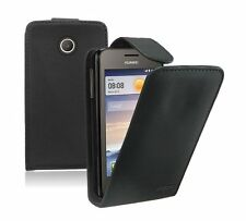 Leather Flip Case Cover Pouch Saver for Mobile Phone Huawei Ascend Y330