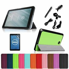 Smart Shell Case Hard Back Cover Stylus for 2013 DELL Venue 8 Tablet (Android)