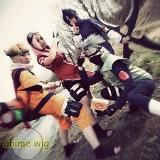 NARUTO HOKAGE Characters Anime Cosplay Party Hair Wig + Free Cap