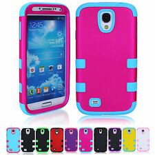 Soft Silicone Case Cover For Samsung Galaxy S4 I9500 Hard Back Protector US Hot