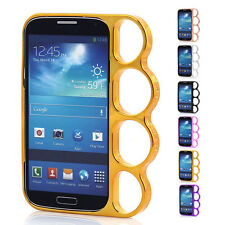 6 Choices Knuckle Rings Hard Case Cover Bumper  For Samsung Galaxy S4 SIV i9500