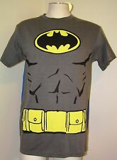 DC Comics BATMAN Dark Knight Muscle Superhero T Shirt W Cape Small thru XL NEW