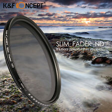 Slim Fader Variable Adjustable ND Neutral ND2 to ND400 Filter 40.5 52 58 67 77mm