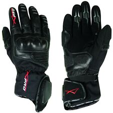 Gloves Leather Professional Textile Motorcycle Apparel WaterProof Thermal