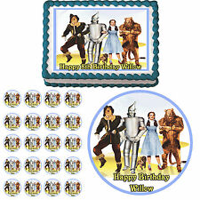 WIZARD OF OZ Edible Cake Topper Cupcake Image Decoration Birthday Party