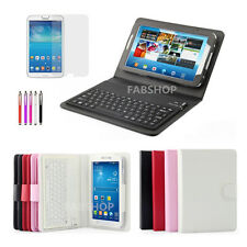 WIRELESS BLUETOOTH KEYBOARD CASE STAND FOR SAMSUNG GALAXY TAB S/PRO TAB 2/3/4