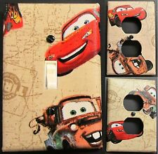 Disney Cars Tan custom Light Switch wall plate covers man cave room decor