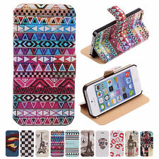 CHEAP Various Pattern Wallet Leather Phone Case Cover Skin Stand For Iphone 5 5S