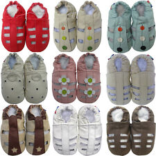 carozoo shoeszoo soft sole leather baby toddler kid prewalker sandals