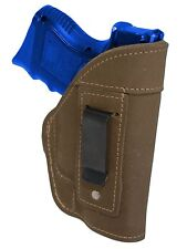 NEW Barsony Olive Drab Leather IWB Gun Holster for HK, Kahr Compact 9mm 40 45