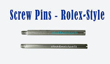 WATCH SCREW PINS, SCREW-IN PINS for ROLEX-STYLE bracelet links band strap