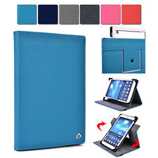 """Kroo Universal Rotating Folding Folio Cover Stand Guard fits 8"""" Tablets"""