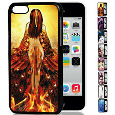 CHEAP SALE 3D Sexy Lady Body Wing Printed Back Case Cover For Apple iPhone 5C
