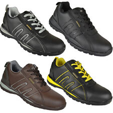 **MENS SAFETY TRAINERS SHOES BOOT WORK STEEL TOE CAP HIKER ANKLE SIZE 6-13UK NEW