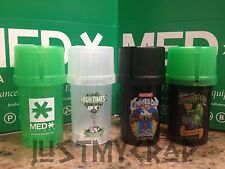 MedTainer Storage Container w/ Built-In Grinder AIR/WATER/SMELL limited edition
