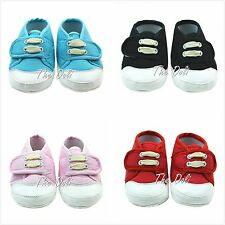 Baby Shoes Soft Bottom Antiskid Canvas Velcro Sneaker for 0-9 month Newborn baby