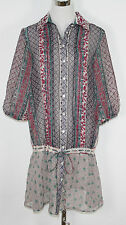 "ONLY Longbluse Tunika ""Paisley L/S Shirt Dress"" creamy geblümt NEU *UVP 39,95€"