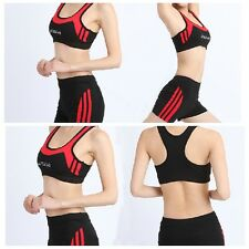 360 Max Support Sport Racerback Removable-Padded Bra with shot pants a sets MS13