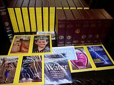 12 NATIONAL GEOGRAPHIC MAGAZINE COMPLETE SET 1980-2017 SLIPCASED ALL SUPPLEMENTS
