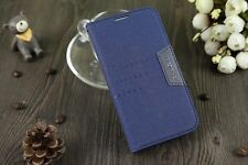 Luxury Leather Flip Wallet  Cell Phone Case Cover For Samsung Galaxy S5 I9600