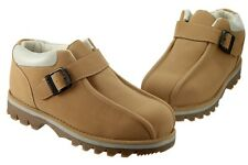 Lugz Pathway Lo Strap MPLSD-7651 Wheat Brown Durabrush Leather Classic Boots Men