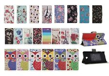 Luxury Sony Xperia M2 Designer Stand Folio Wallet Leather Card Hard Case Cover