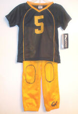 ProEdge Cal Berkeley Golden Bears Toddler Boys Outfit Sizes 2T and 4T NWT