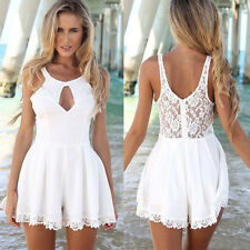 Cheap! Splicing Chiffon+Lace Cocktail Party Clubwear Jumpsuits Rompers Playsuits